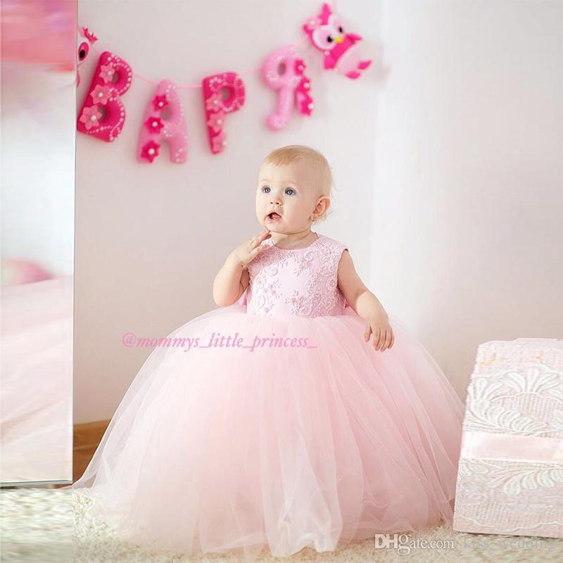 df7bf0a89 Lovely Baby Pageant Dresses Little Princess Wear Graduation Tutu ...