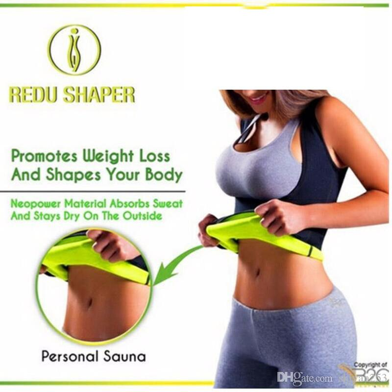 2ba4b757fcaf2 2019 Women Neoprene Breast Care Abdomen Fat Burning Fitness Body Girly  Stretch Yuga Exercise Vest Hot Slimming Shaper Top From Shiyan253