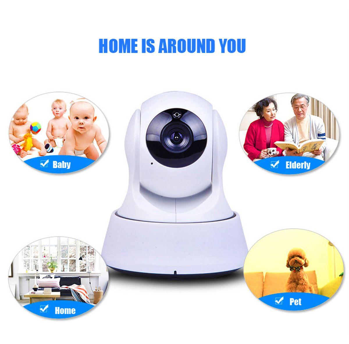 Wireless Camera LeFun Baby Monitor WiFi IP Surveillance Camera Nanny Cam  Video Recording Play Plug Pan Tilt Remote Motion Detect 1406006 Security  Cctv