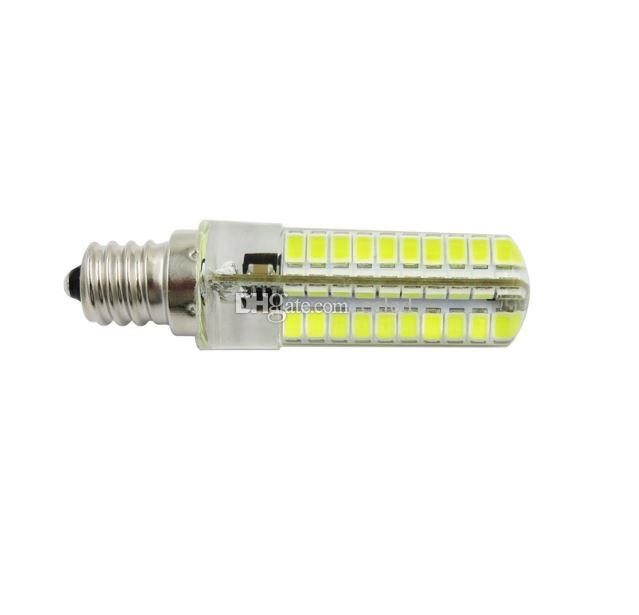 Energy Saving Corn Bulb LED 5W E27 E14 G9 2835 SMD 80 LED Silicone Crystal Chandeliers Lights 360 Degree Beam Angle Crystal Light