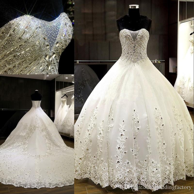 luxury wedding dresses 2017 ball gown wedding dresses