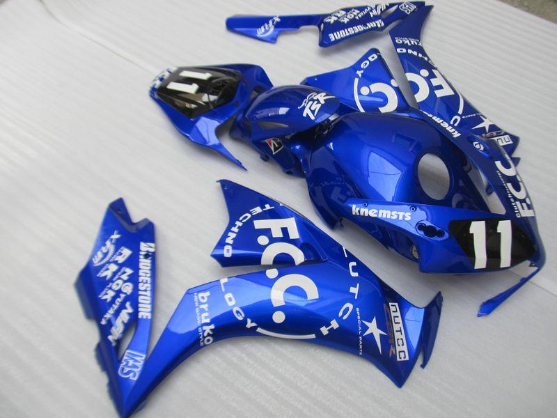 Kit carene stampi ad iniezione Honda CBR1000RR 12 13 14 carene blu CBR1000RR 2012-2015 OT01