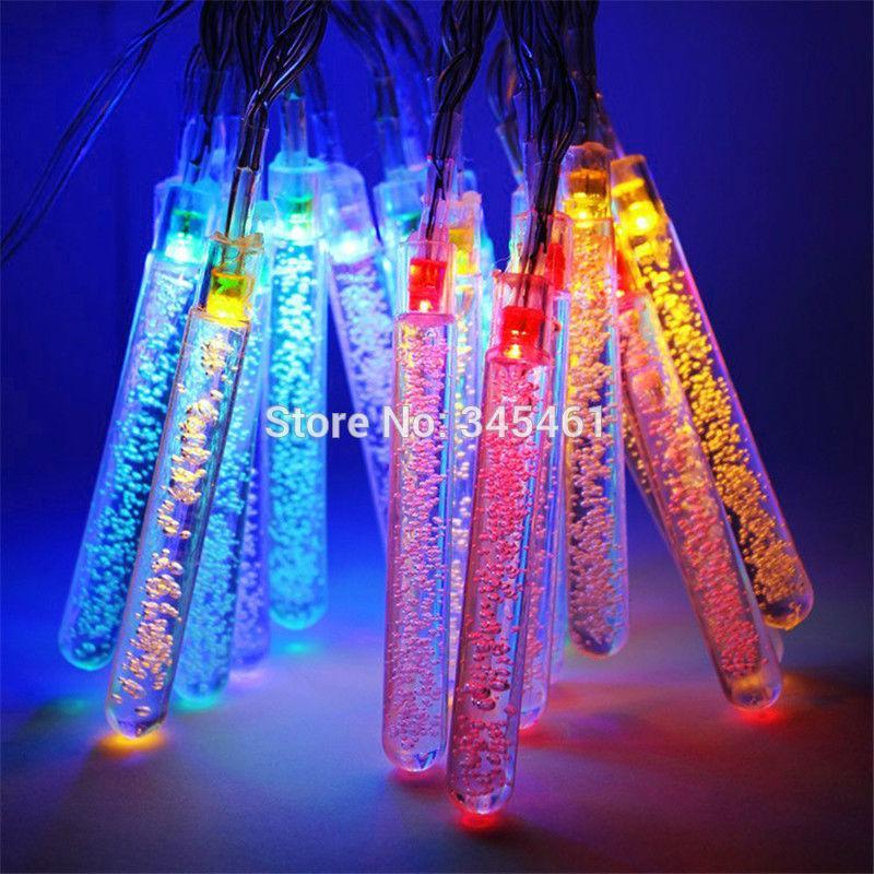 new arrival christmas lights solar led string lights 4 8m 20 led