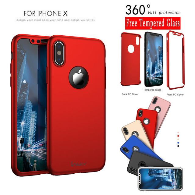 custodia 360 iphone x