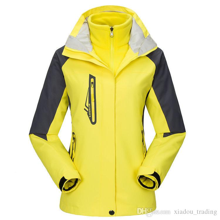 Couple Outdoor Softshell Jackets Men's Women's Anti-abrasion Windstopper Camping Sport Climbing Winter Jacket Ski Warm Coat Clothing