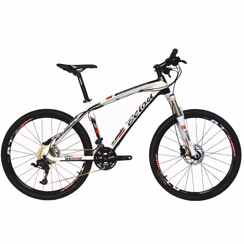 BEIOU Carbon 26-Inch Mountain Bike 17 Frame LTWOO 30 Speed Hardtail ...