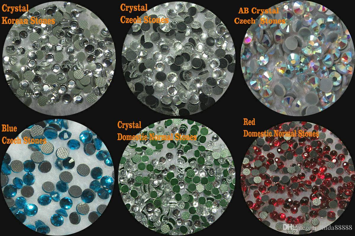 Iron On Rhinestone Transfer FLORAL ROSES Diamante Hotfix Gem Crystal Big Motif Patch