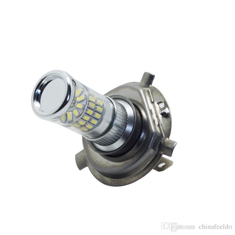 2 개 12V DC 자동차 최고의 순백색 H4 / 9003 / HB2 48SMD 3014 안개 LED 조명 전구 램프 # 4776