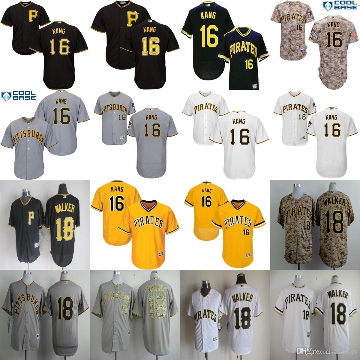 cf919ef3e0b ... Jerseys Embroidery Best 2017 Mens Womens Kids Pittsburgh Pirates 16  Jung Ho Kang 18 Neil Walker 26 Tony ...