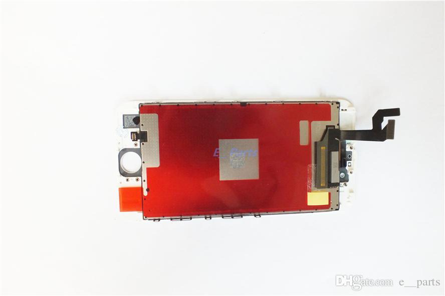 100% original No China Copia LCD original + Retroiluminación original + Pantalla LCD IC original Digitalizador de pantalla táctil para iPhone 6S 6S Plus