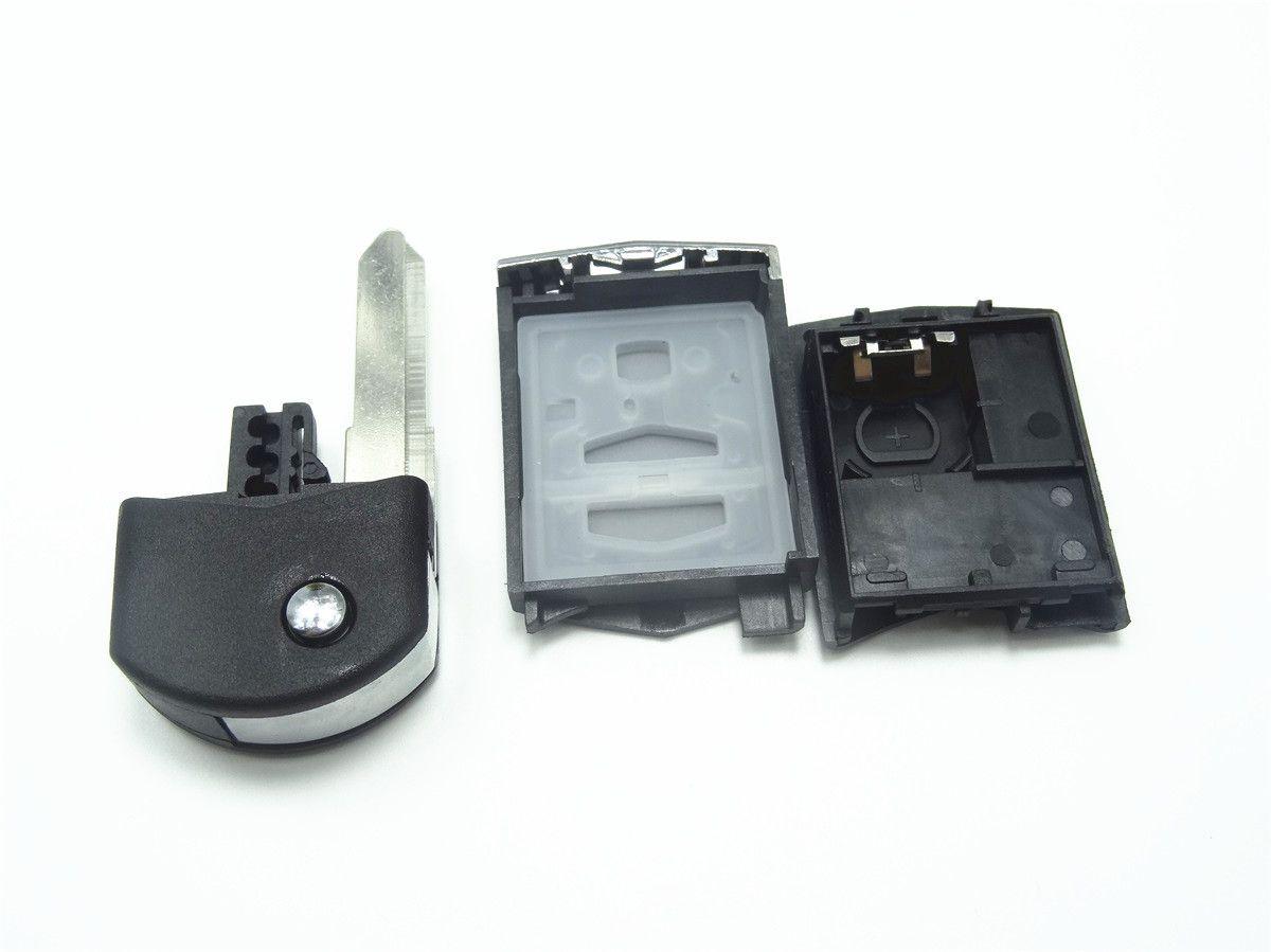 New Just The Case Keyless Entry Remote Control Car Key Fob Shell 4btn
