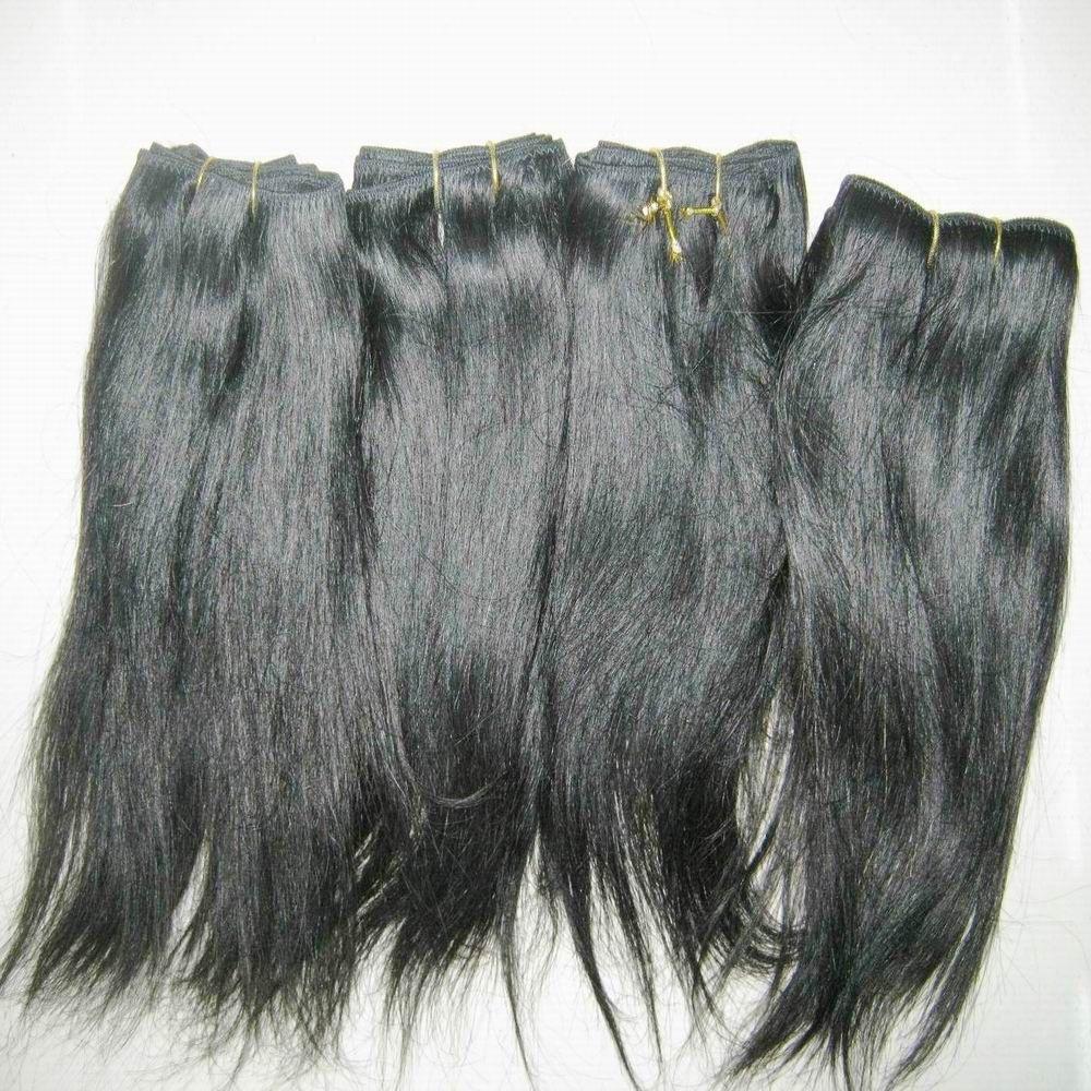 Оптовая Straight волнистого Weaves индийской Обработанной цены человеческих волос черного цвет Дешевой