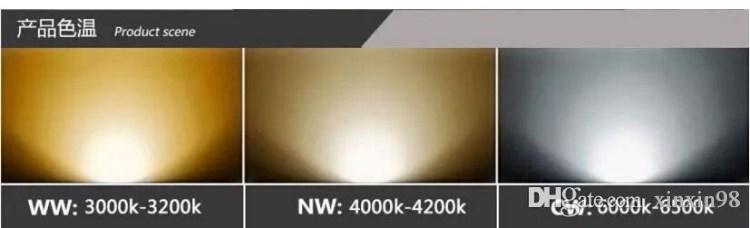 DHL Livraison gratuite super AR111 GU10 COB 15W Dimmable Ampoule LED COB Spot LED 85-265V