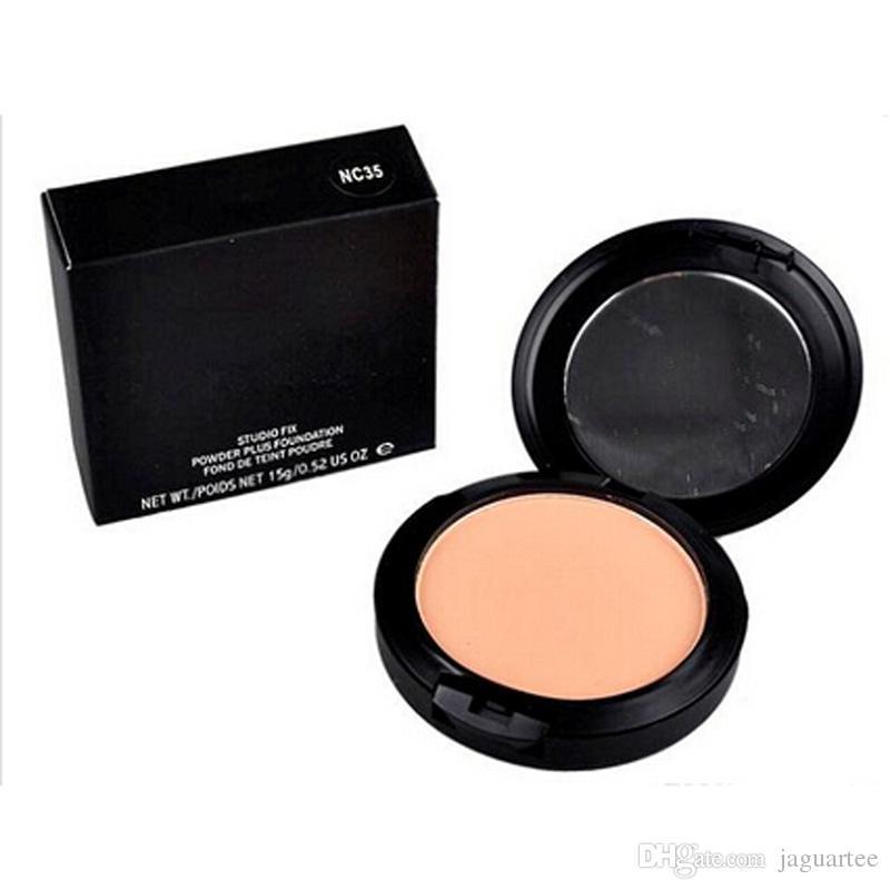 2016 New Foundation Brand Makeup Studio Fix Powder Cake Easy to Wear Face Powder Blot Pressed Powder Sun Block Foundation 15g DHL