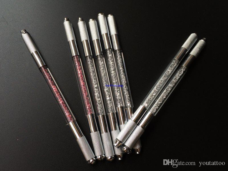 New Permanent Make Up Microblading Shadow Eyebrow Manual Tattoo Pen For 3D Embroidery