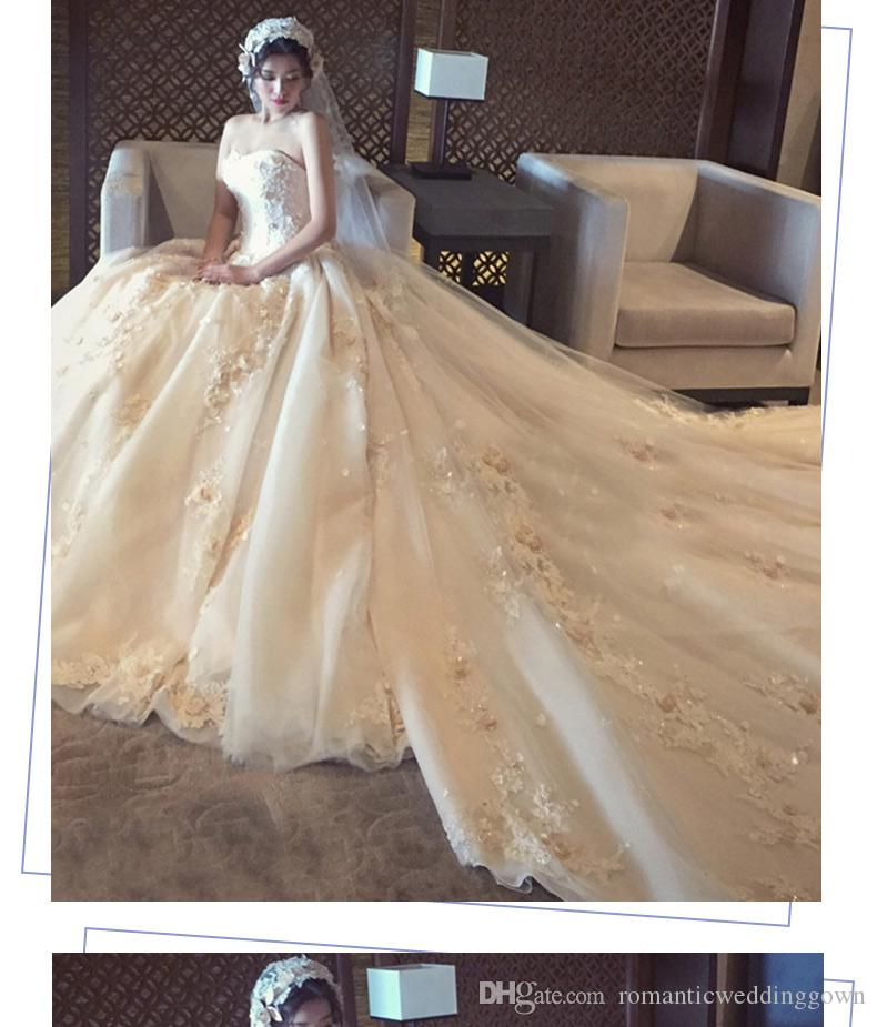 Wholesale 2018 New Brand Wedding Dresses / New Designer New Hot Sale ...