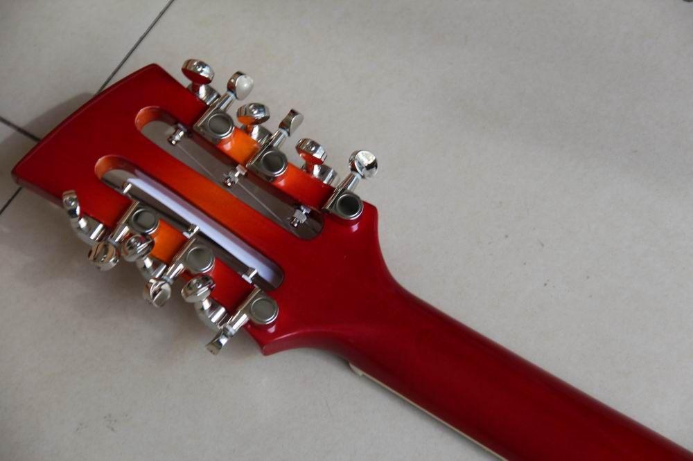 personalizado fábrica assinatura guitarra de 12 cordas em sunburst shipping120310 gratuito