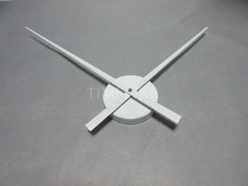 Wholesale White Color Large Clock Needles Accessory For 3d Wall