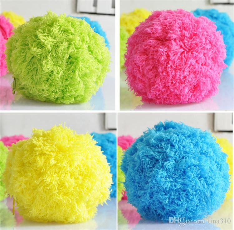 Hot Creative cleaner Dust plush toys Mini sweeping robot mop ball cleaning Novelty vacuum cleaner IB352