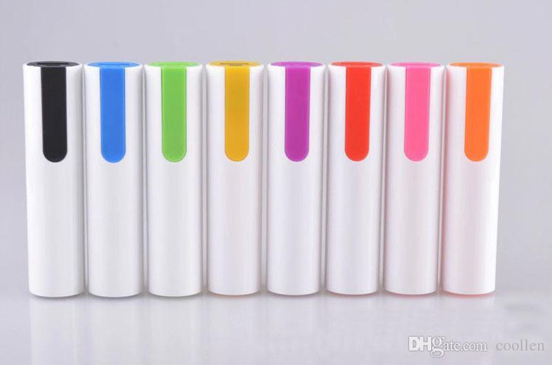 Best gift 2600mAh Powerbank External Battery Power Bank 18650 Portable Charger For mobile xiaomi mi5 xiaomi redmi 3 iphone 6 s