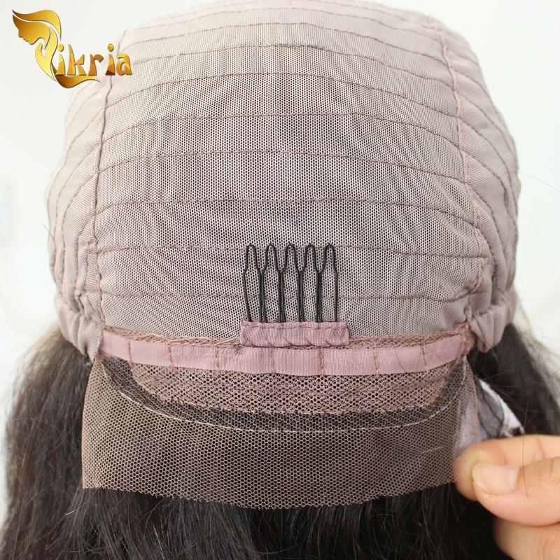 Pelucas llenas del cordón de la onda profunda de Brown Pelucas delanteras del cordón del pelo humano de la base de seda brasileña peruana india india