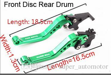 New style Motorcycle Brake Lever Scooter Moped Accessories For GY6 Refit Adjustable CNC Disc/Drum Hand Brake