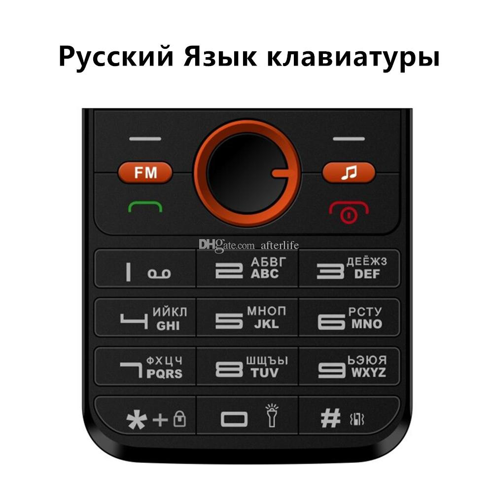Original mobile Phone 1.77inch Unlocked cell phones Dual SIM Card GPRS Vibration Outside FM Radio multi language