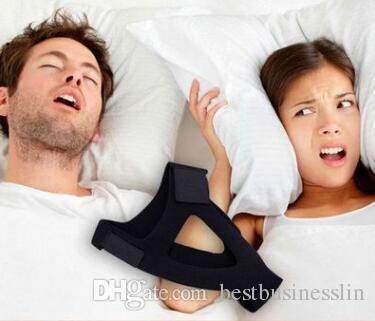 Venta caliente Tiras nasales Anti ronquidos Correa de barbilla Parar ronquidos Anti apnea Solución de la mandíbula Herramienta del sueño