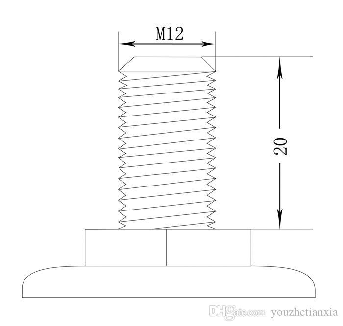 76mm furniture caster Medical bed Full plastic screw universal instrument caster swivel Medical Equipment wheel