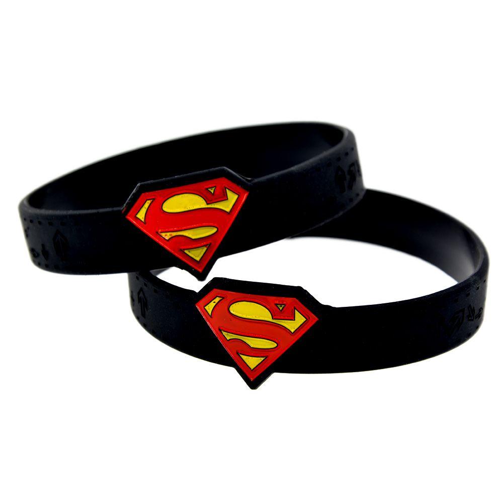 2018 wholesale fashione bracelet watch shape ink filled superman