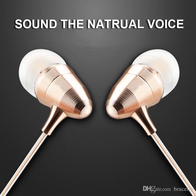 74154947613 2017 3.5mm Gold Bullet Metal Earphones Luxury Stereo Metal Earbuds HIFI  Super Bass Headset Sport Running Headphones With Mic 50 Cent Headphones  Best Earbuds ...