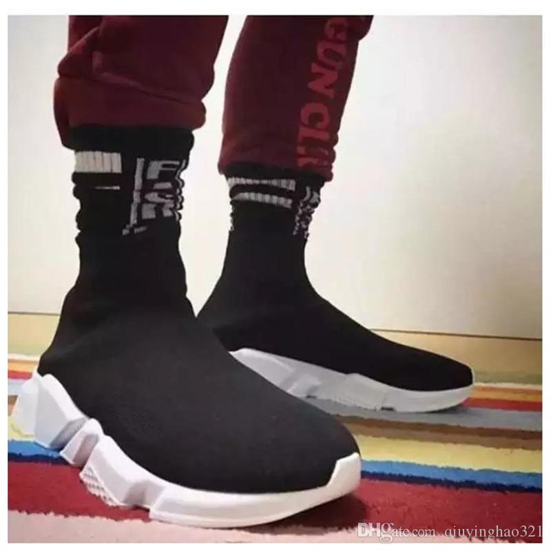 sock boot trainers