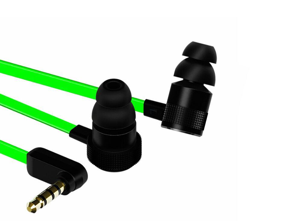 الماسح المطرقة برو V2 سماعة الأذن في سماعة وميكروفون مع صندوق البيع بالتجزئة في سماعات الأذن الألعاب عزل الضوضاء ستيريو باس 3.5MM