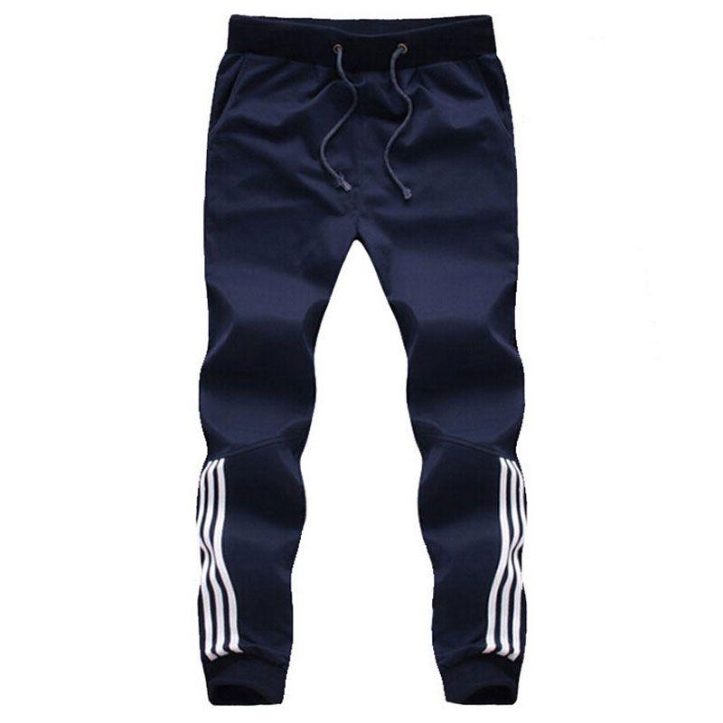 0d66f2aac5 Wholesale-2016 Brand New Mens Joggers Fashion Casual Sweatpants Pants  Trousers Men Tracksuit Bottoms
