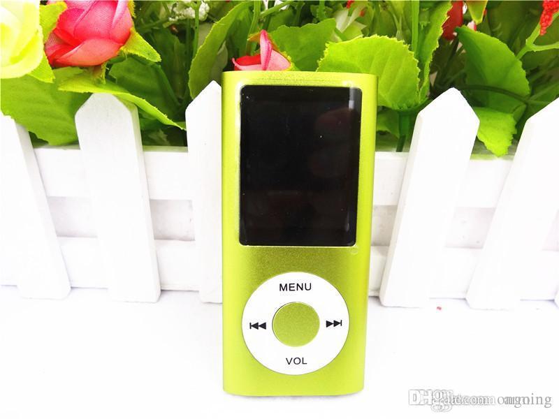 Livraison gratuite Mini lecteur MP3 Clip avec écran LCD FM support Micro SD Carte TF
