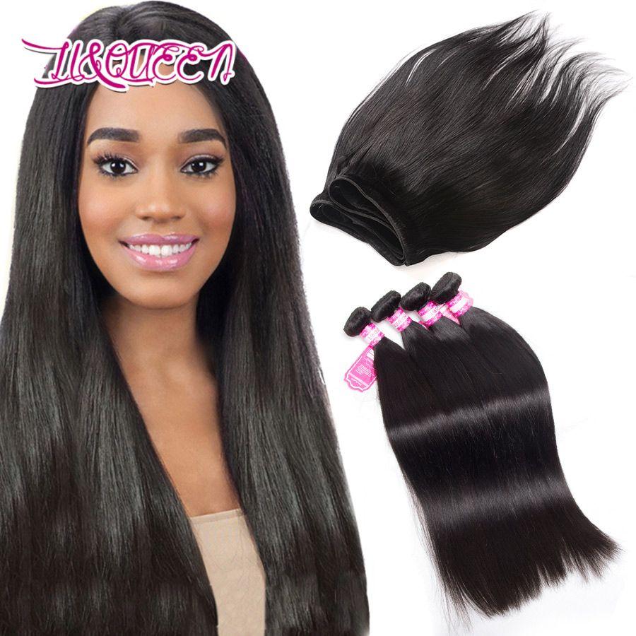 2018 Mongolian Hair Bundles Straight Hair Weave 4 Bundles Human Hair