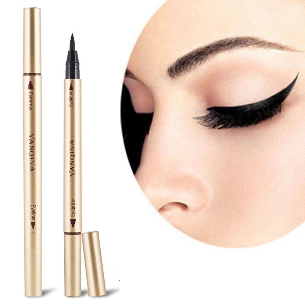 Long Lasting Waterproof Eye Brow Eyeliner Liquid Eyebrow Pen Pencil