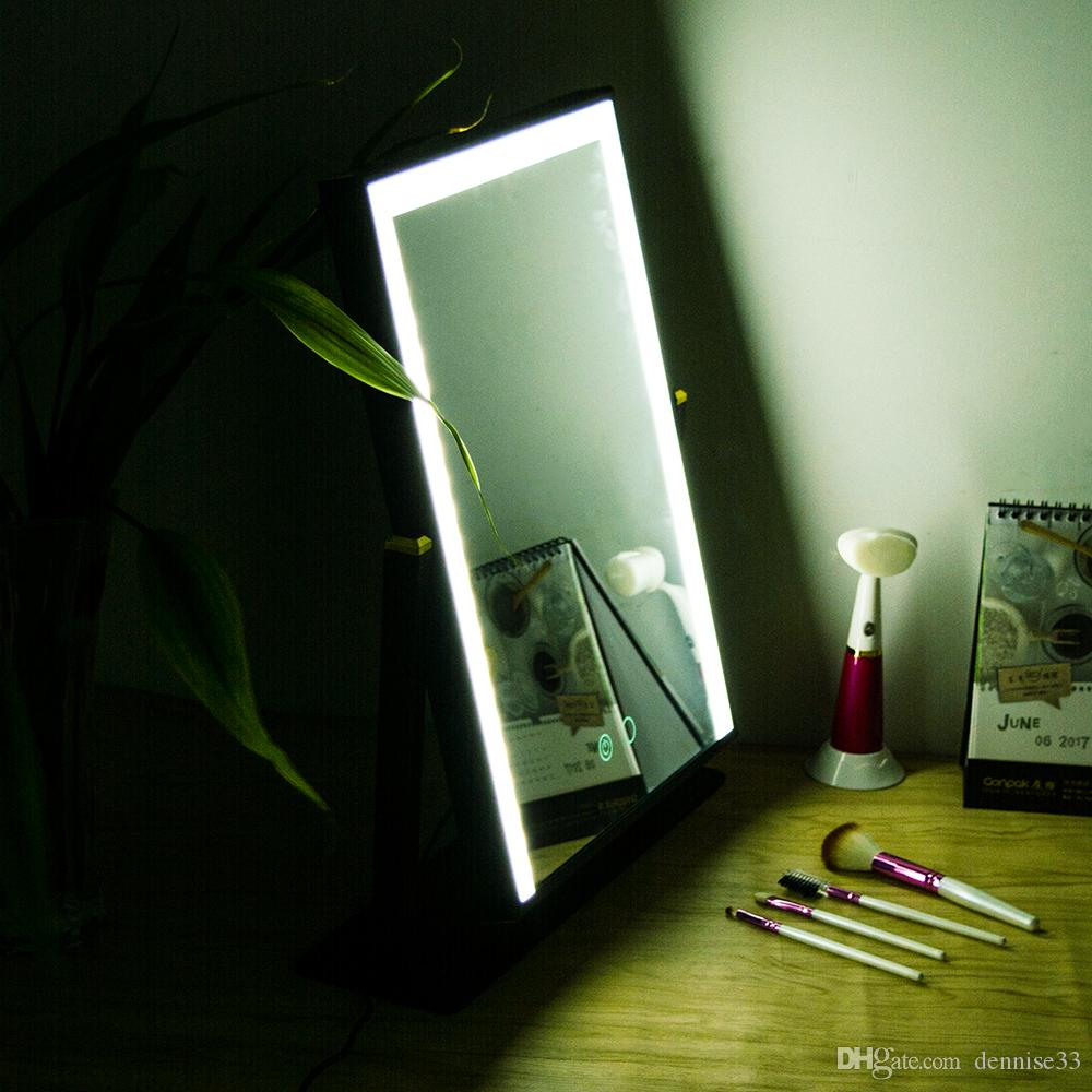 Led Touch Screen Makeup Mirror Professional Vanity Mirror Lights ...