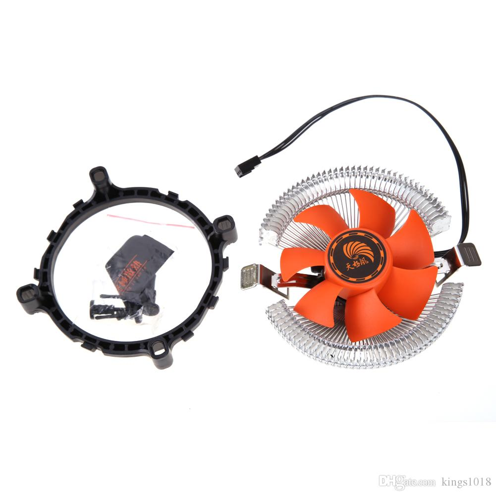 New PC CPU Cooler Cooling Fan Heatsink for Intel LGA775 1155 AMD AM2 AM3 754 CPU Cooling Fans High Quality