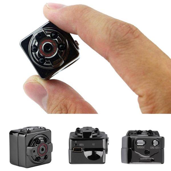 Taşınabilir Mini Kamera SQ8 Full HD 1080 P Spor Mini DV DVR Hareket Algılama Kamera IR Gece Görüş Dijital Küçük Kamera
