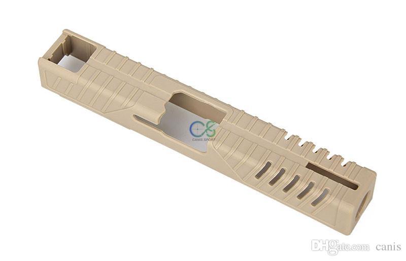 Yeni Geliş Tabanca Kılıf Taktik Aksesuarlar Taktik Cilt Slayt Kapak For G17 G19 Ücretsiz Kargo CL33-0213