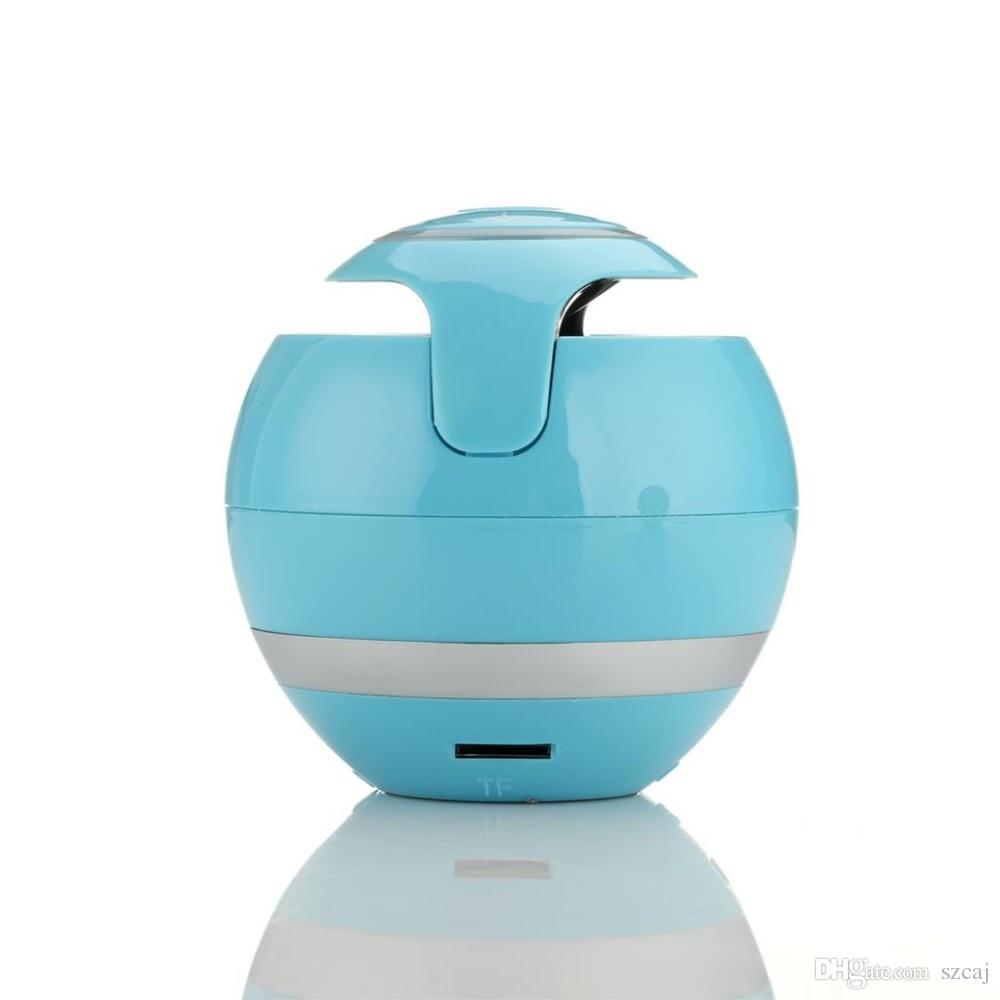 Auto Bluetooth Lautsprecher Mini Beweglicher Drahtloser Lautsprecher Soundbar Bass Boombox Resonanzkörper mit Mic TF Karte FM Radio LED Licht