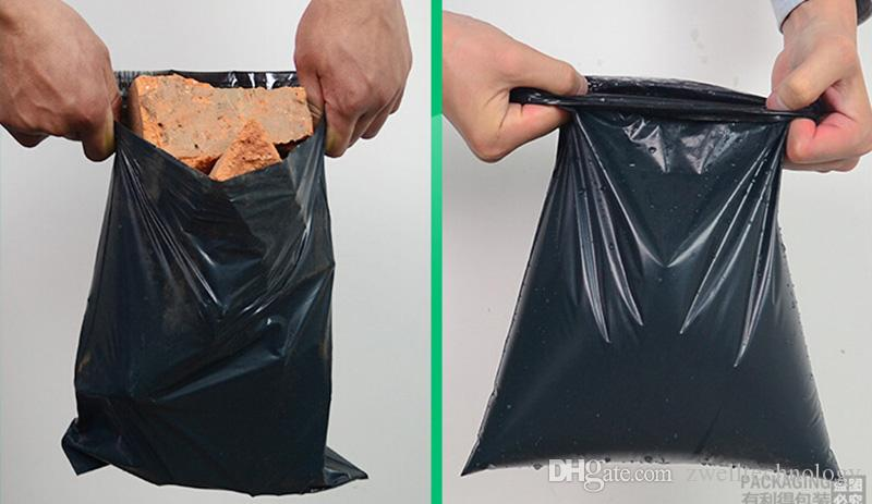 Destructive Postal Express Bags Recycled Material Customizable 17*30 Small Clothing Packaging and Plastic Express Bags Toughness High Viscos