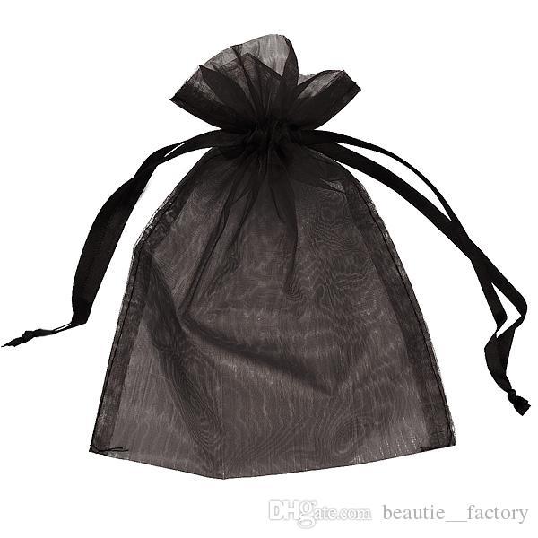 5x7inch 실버 Organza 가방 선물 주머니 결혼식 호의 크리스마스 파티 포장 13cm x 18cm 멀티 색상 레드 핑크 아이보리 골드 블루 그린