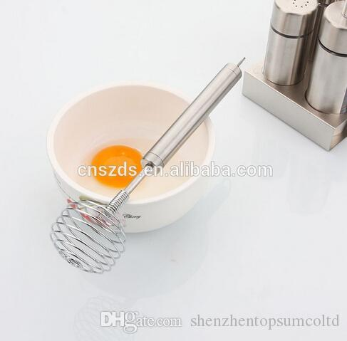 Online Cheap Egg Beater Spring Coil Wire Whisk Hand Mixer Blender Egg  Beater Stainless Steel Egg Stiring Kitchen Tool By Shenzhentopsumcoltd |  Dhgate.Com