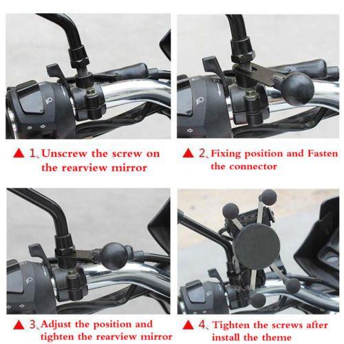 Neuer Universalmotorrad-Lenker-Handy-Berg 3.5-6.5