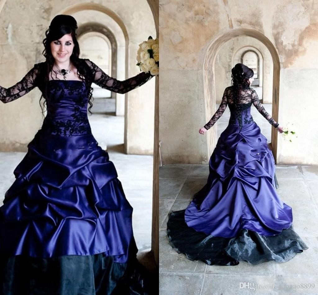 Ausgezeichnet Gothic Brautkleider Plus Size Zeitgenössisch ...