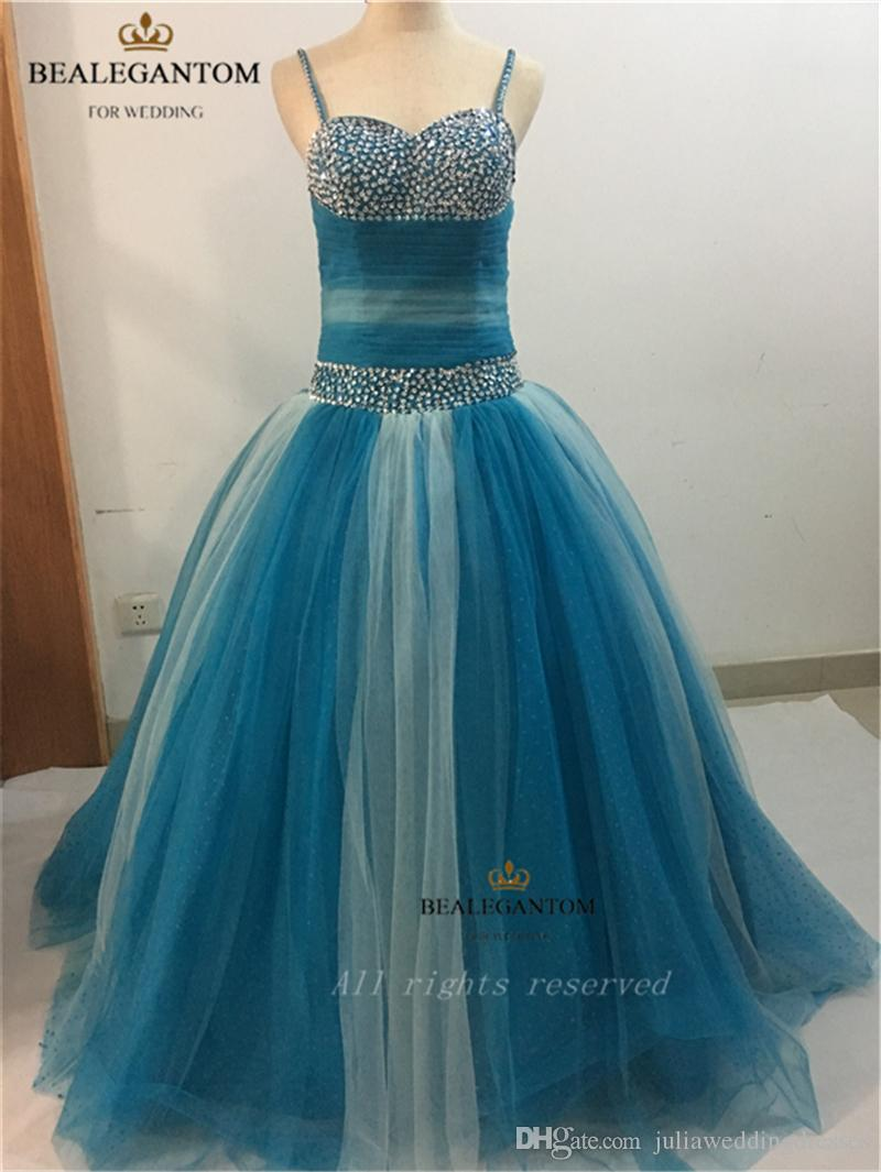 New Organza Ball Gown 2021 Quinceanera Dresses with Sweetheart Beads Lace-Up Floor Length Sweet 16 Dress For 15 Years