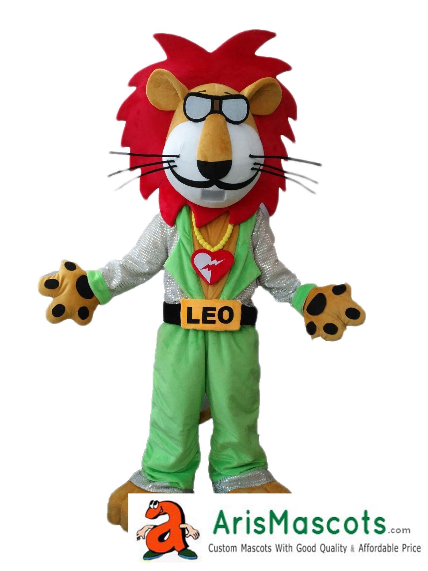 af50f0e89 AM8946 Disco Lion Mascot Costume For Party Custom Team Mascots Sports Mascot  Costume Desuisement Mascotte Character Design ArisMascots Spiderman  Costumes ...