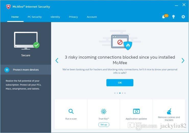 Pas Cher Mcafee Internet Security 2017 1 Utilisateur Pc 6 Mois 180